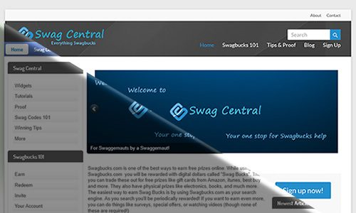 New Swag Central website is live!
